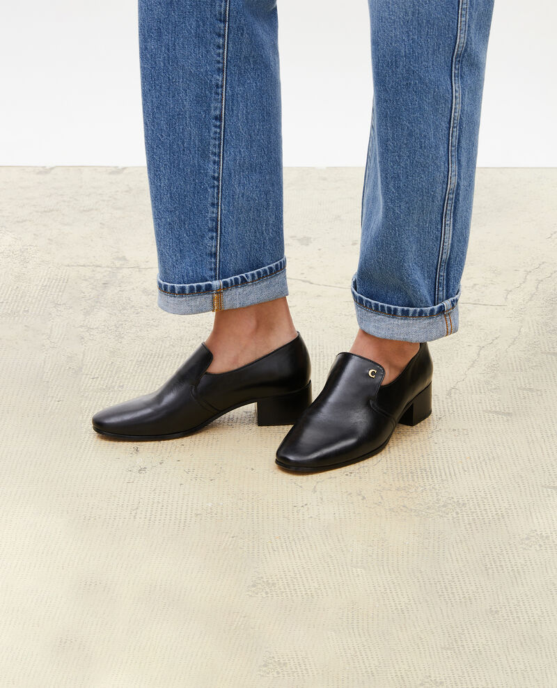 Mocassins en cuir Black beauty Meaux