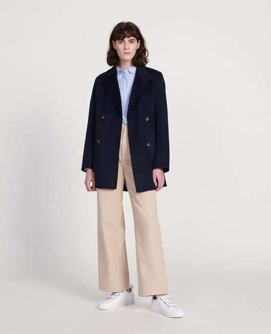 Manteau court MARITIME BLUE
