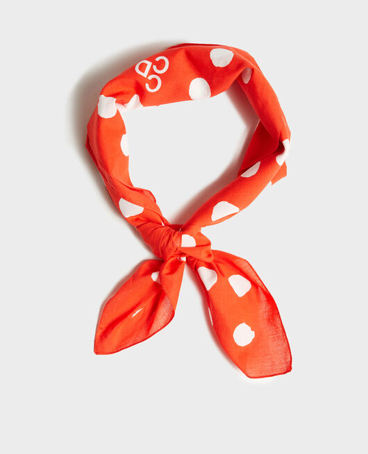 Bandana en coton  FIERY RED