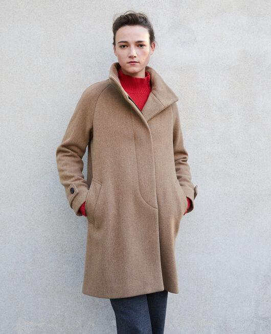 Manteau avec col montant TRUSH