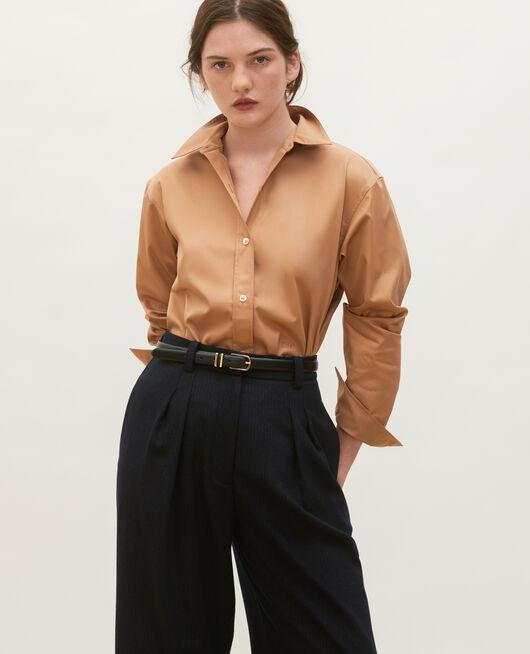 Chemise d'homme en coton Supima LATTE
