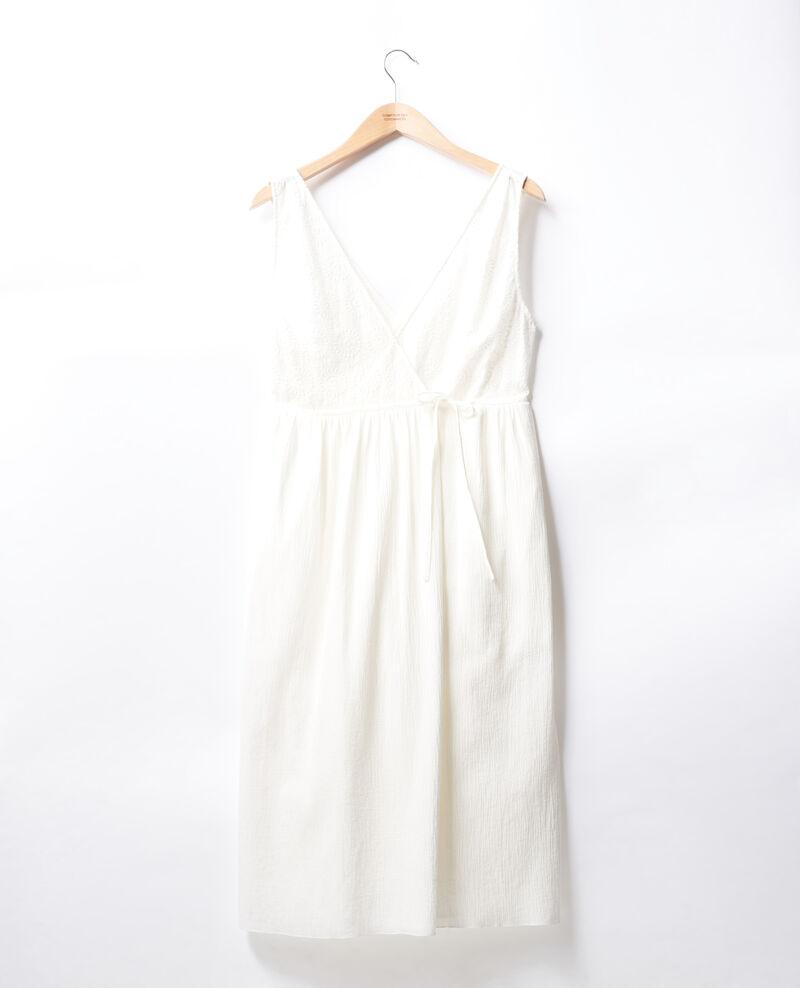 Robe portefeuille Blanc Filo