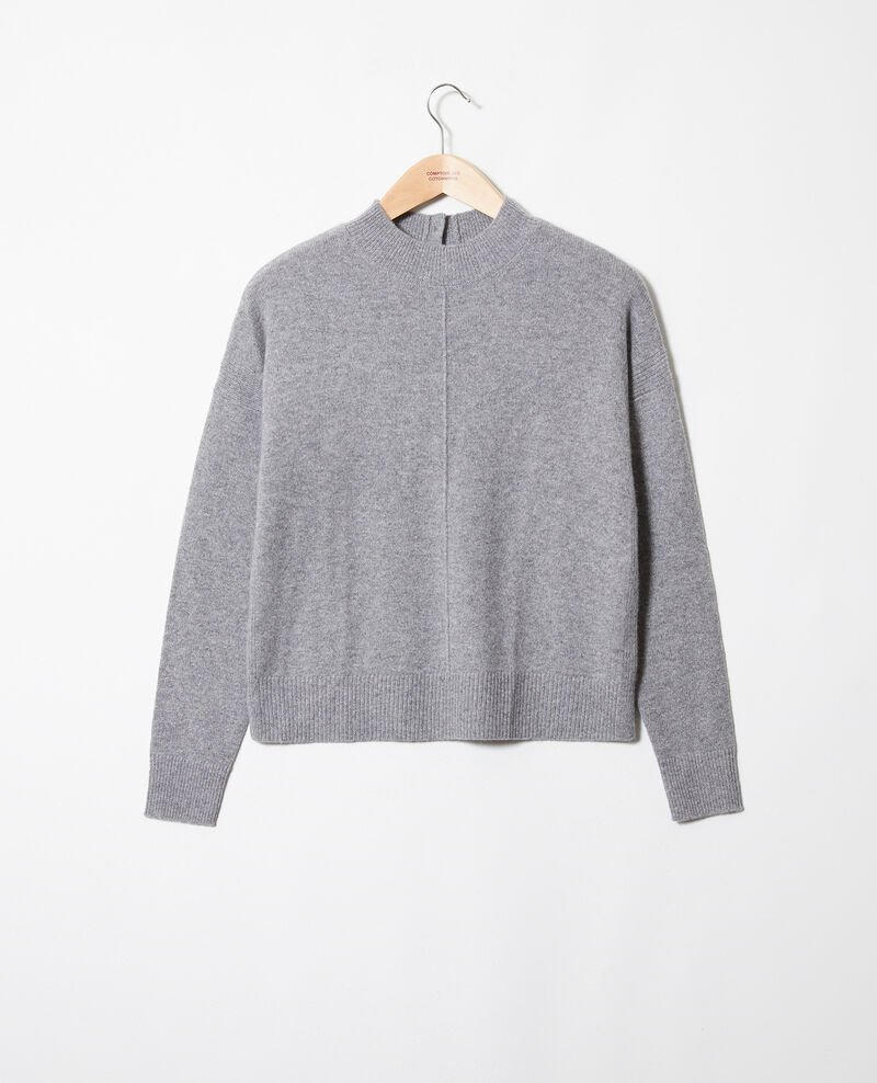 Pull 100% cachemire Light grey Jook