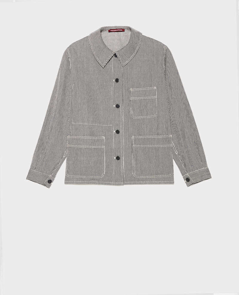 Veste de travail  Denim stripes Lalipine