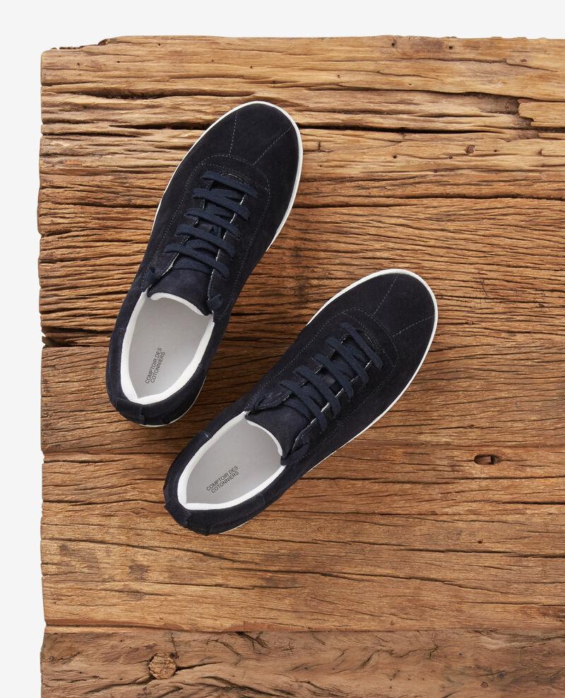 Sneakers en cuir Navy Felaver
