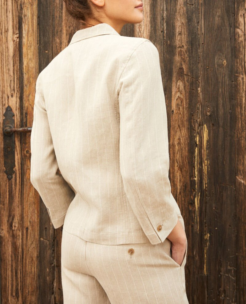 Veste de costume Natural linen/off white Imarus