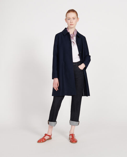 Manteau d'été en coton MARITIME BLUE