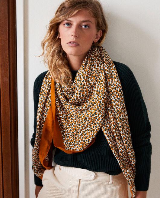 Foulard imprimé léopard THAI CURRY