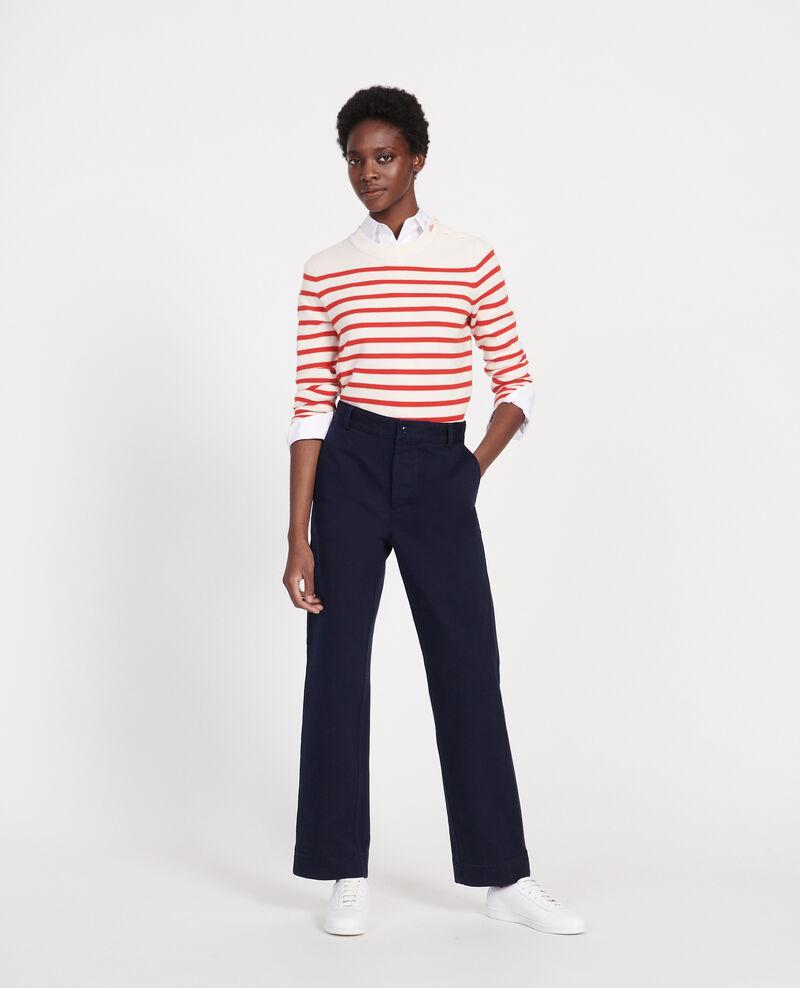 Pantalon de peintre Maritime blue Laora