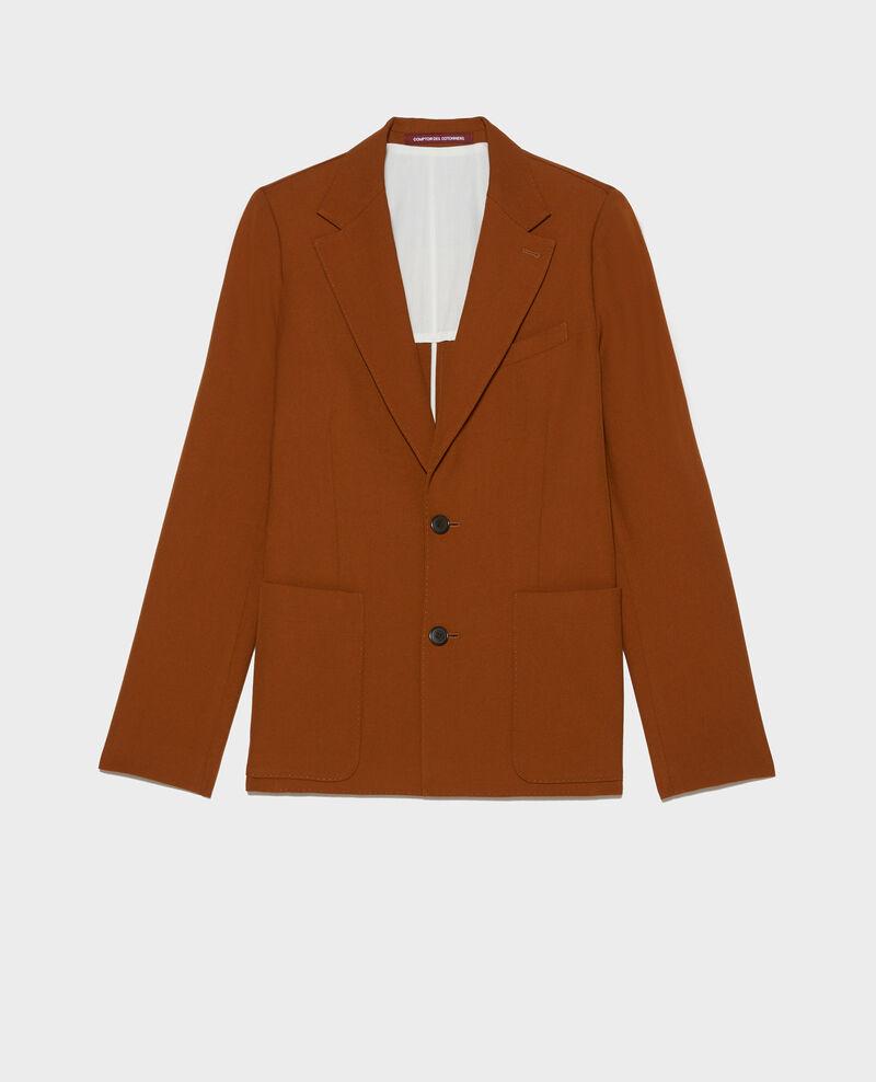 Blazer en laine sèche Monks robe Luscade