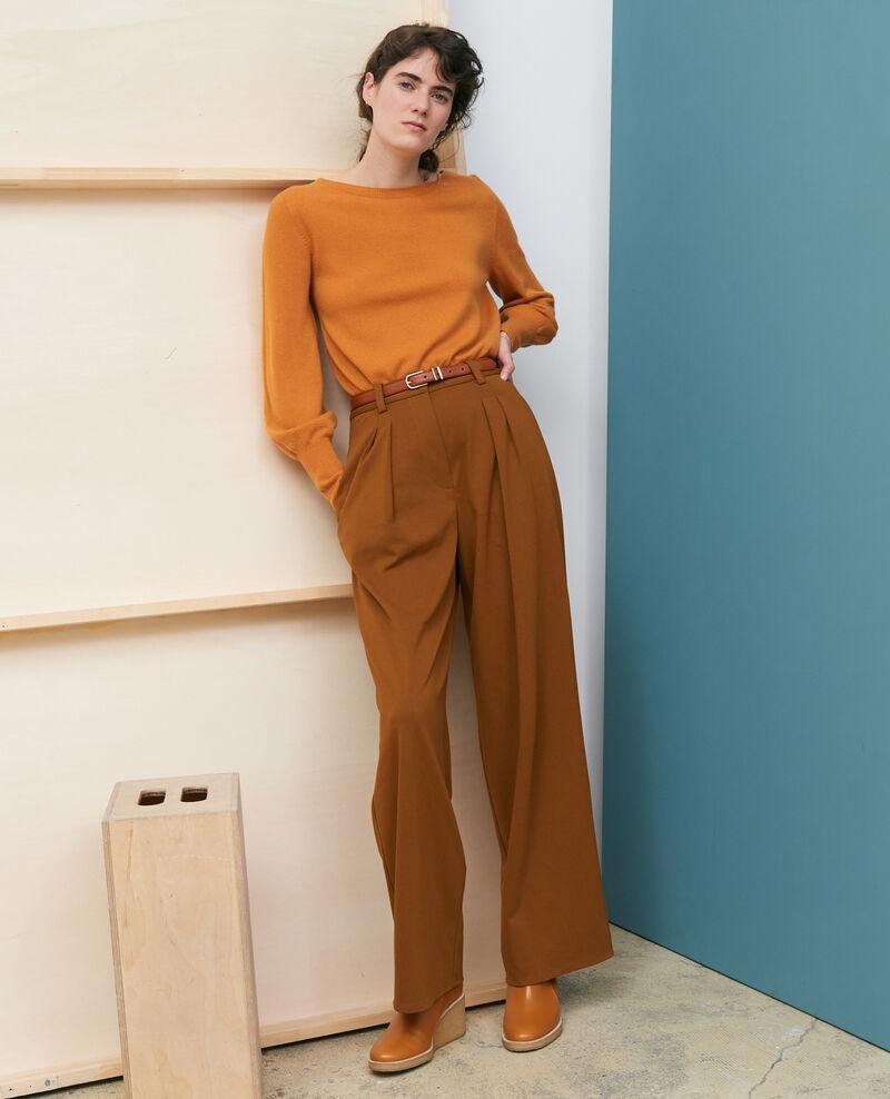 Pantalon YVONNE, large à plis Monks robe Pradus
