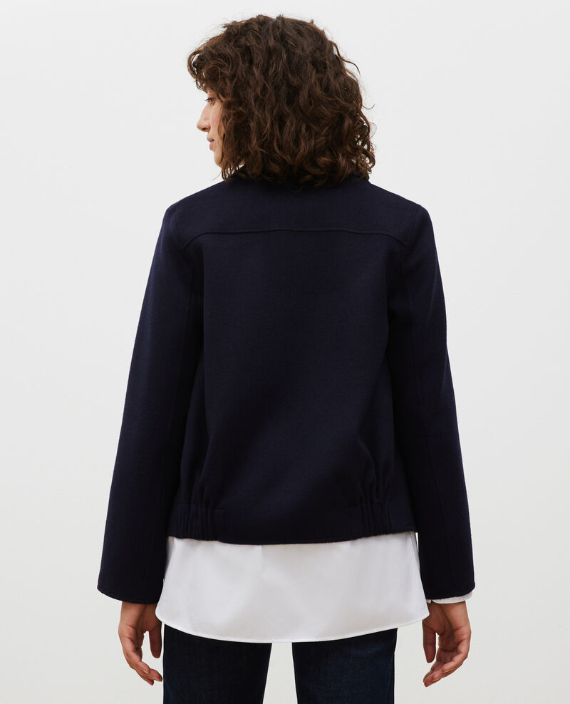 Veste en laine double face Night sky Mauguio