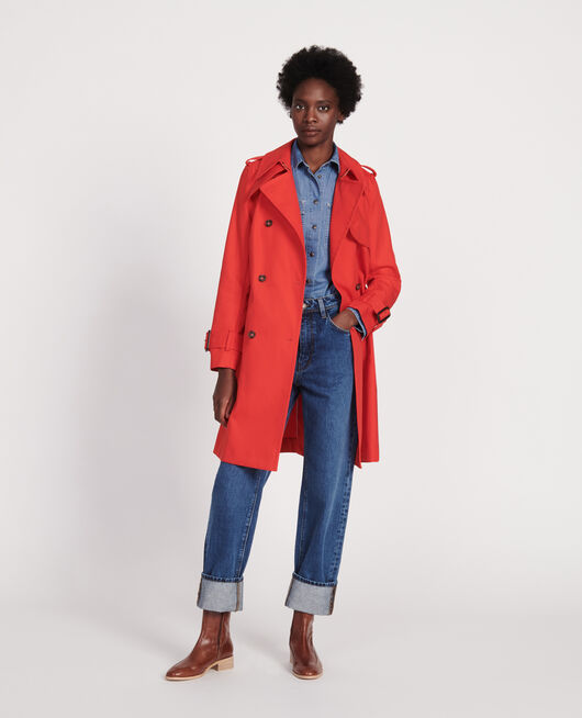 Trench new iconic FIERY RED