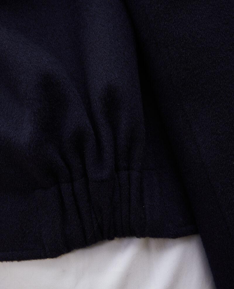 Veste en laine double face Night sky Mauguio