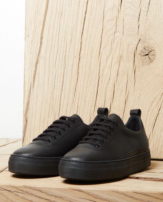 Sneakers à plateforme NOIR