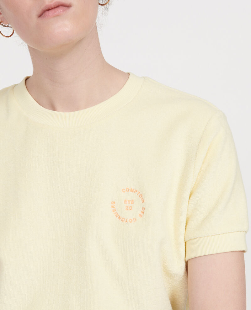 T-shirt en éponge  Tender yellow Lis
