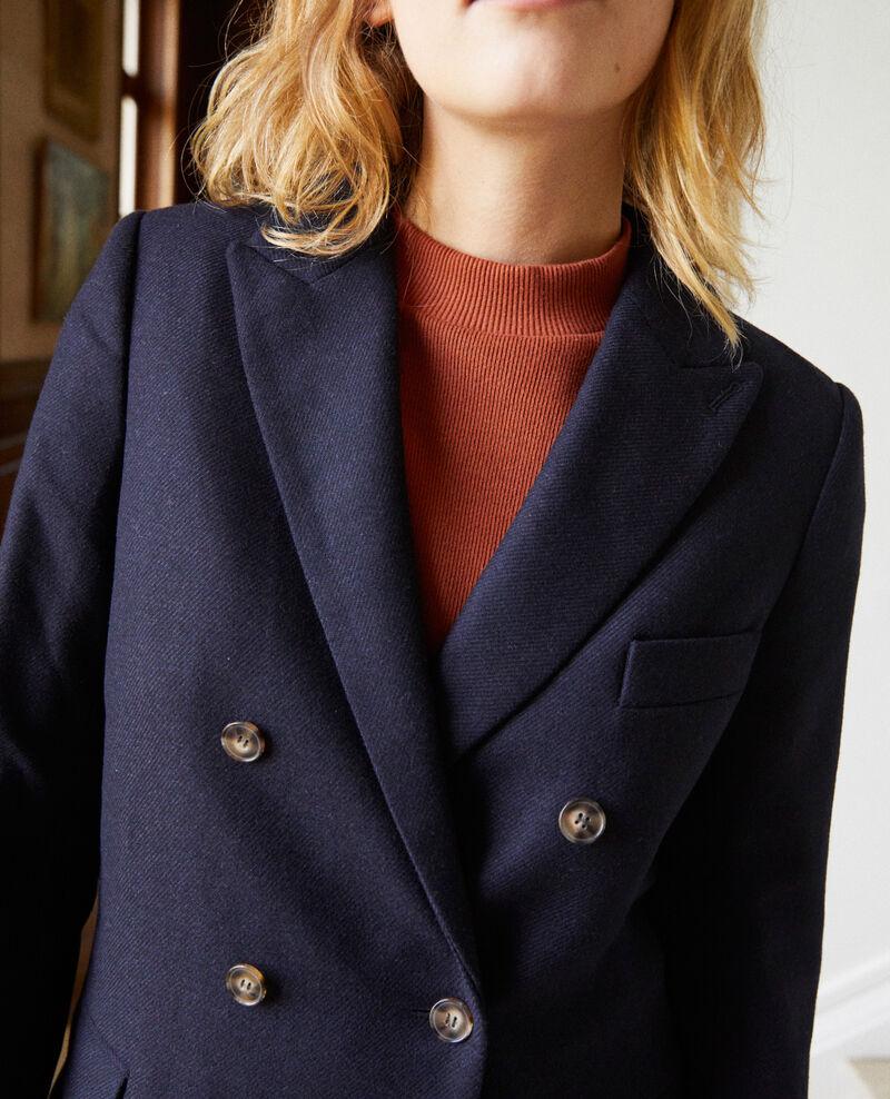 Veste tailoring avec de la laine Dark navy Jermain