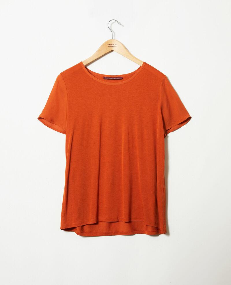 T-shirt bi-matière Umber Jabelle