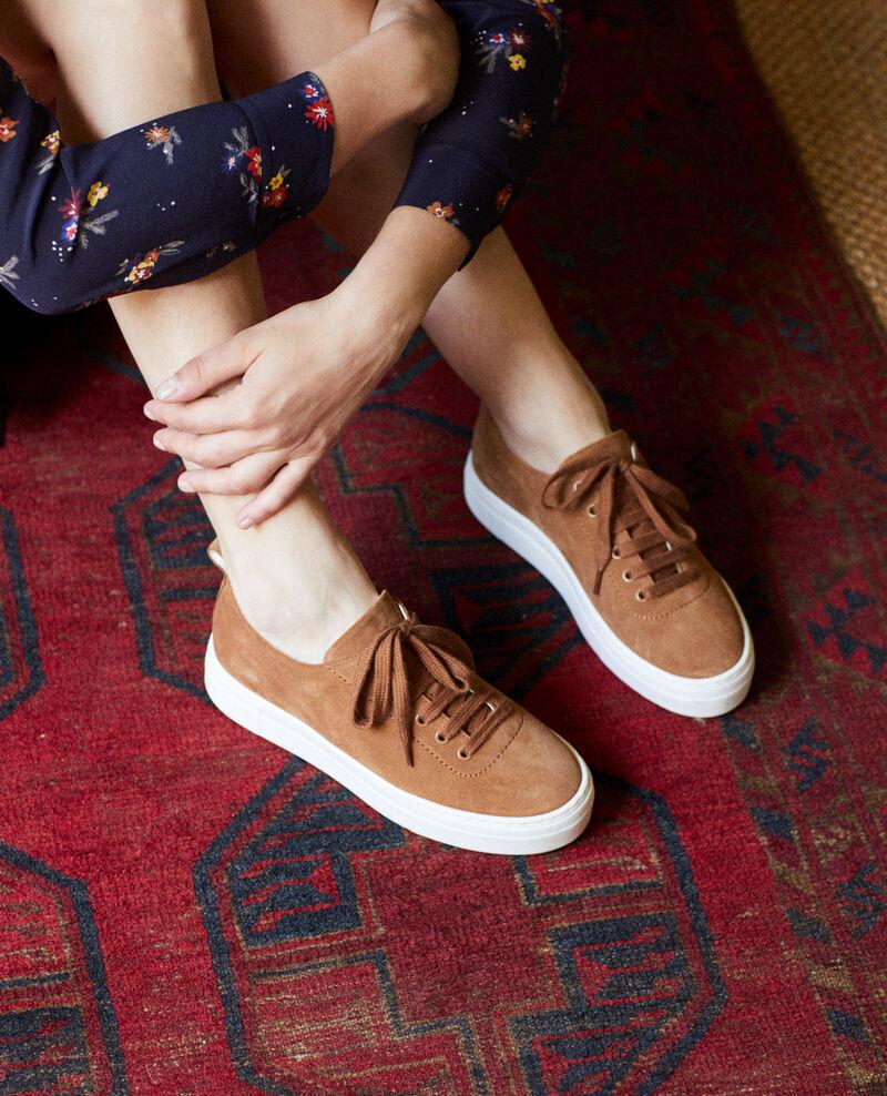 Sneakers à plateforme  Camel Jiginas