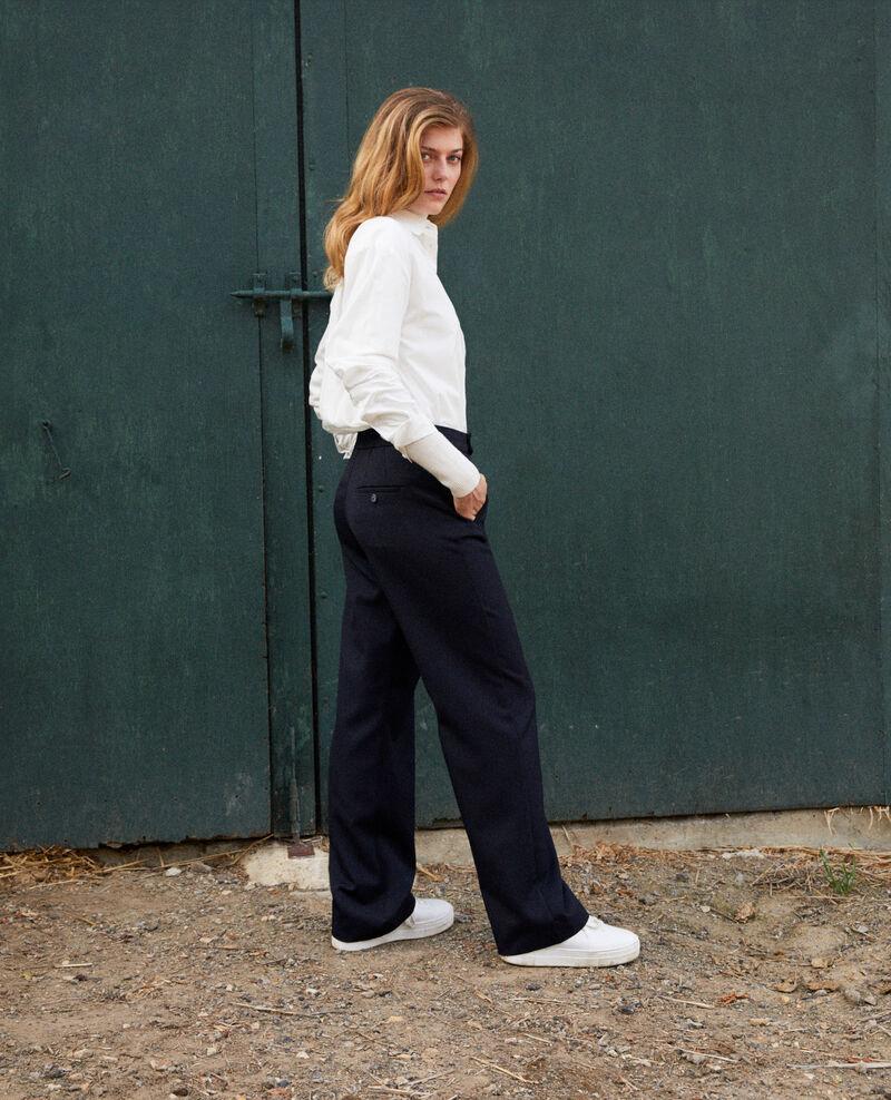 Pantalon coupe droite Dark navy Joubert