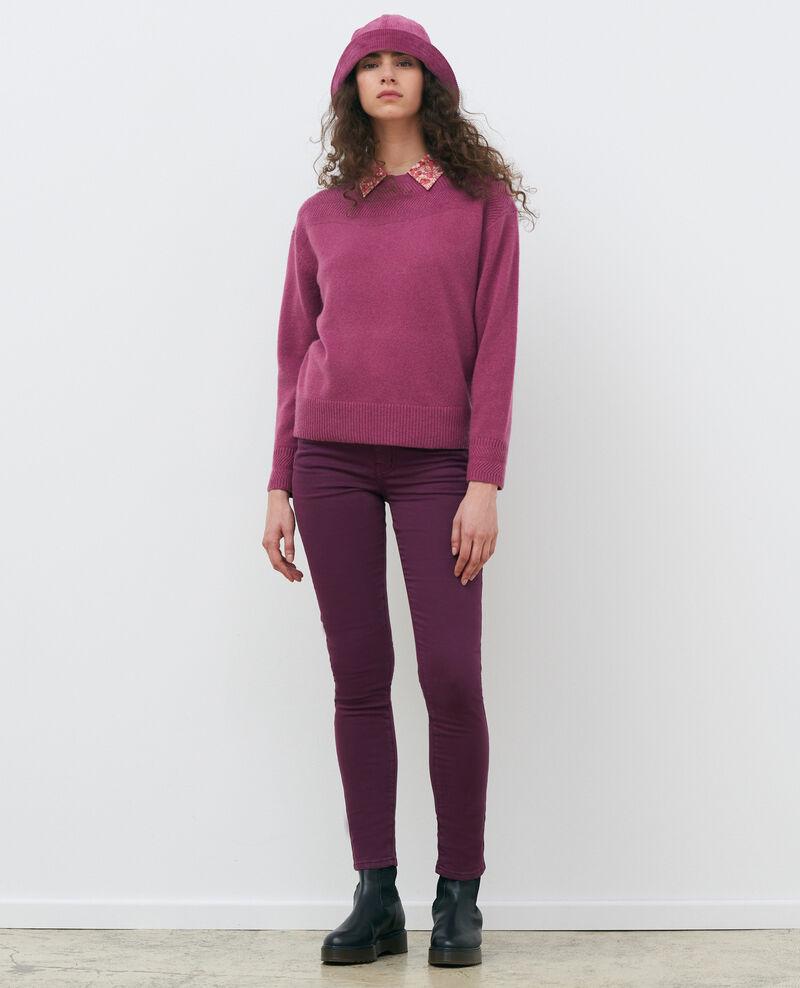 DANI - SKINNY - Jean taille haute 5 poches Potent purple Pozakiny