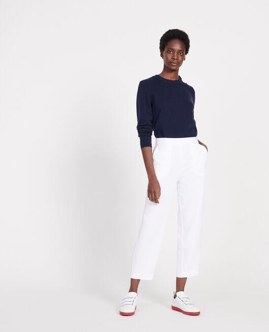 Pantalon fluide OPTICAL WHITE