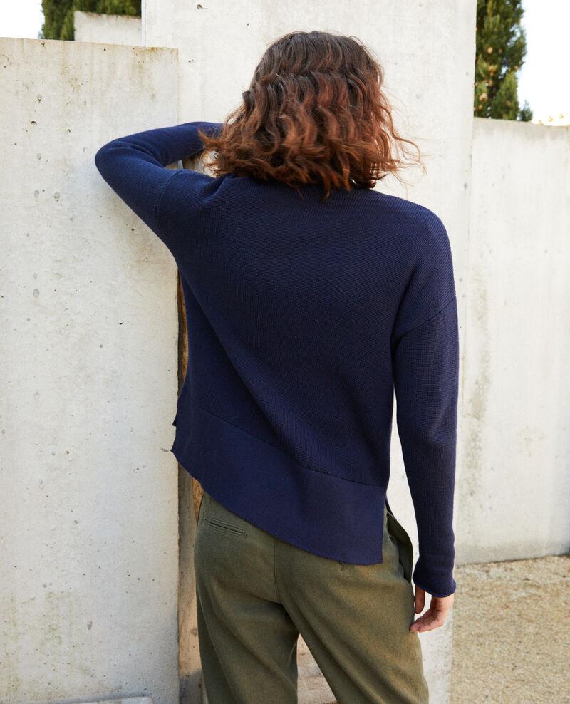 Cardigan zippé Navy blazer Ifulie