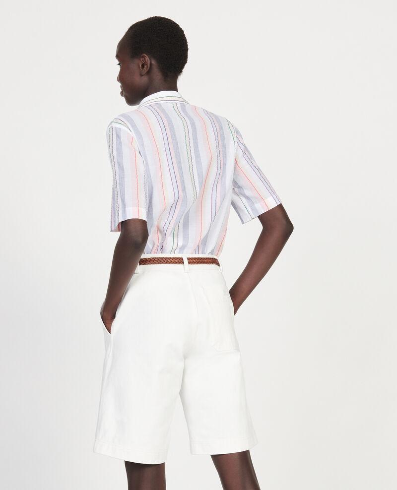 Chemise en coton Stripes multico Lehavre