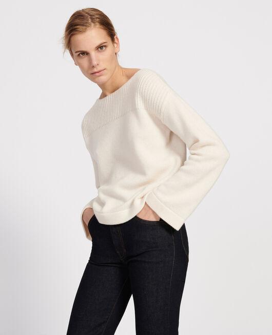 Pull en laine et cachemire BUTTERCREAM