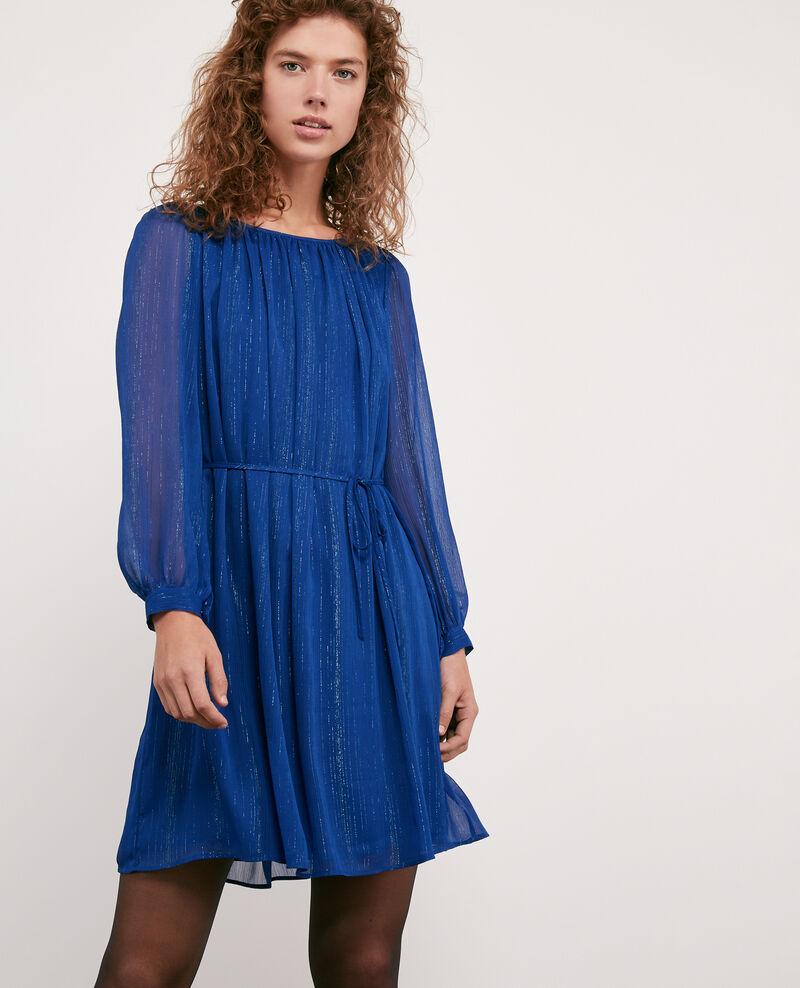 Robe Avec Détails De Lurex Sapphire Dolly Comptoir Des Cotonniers