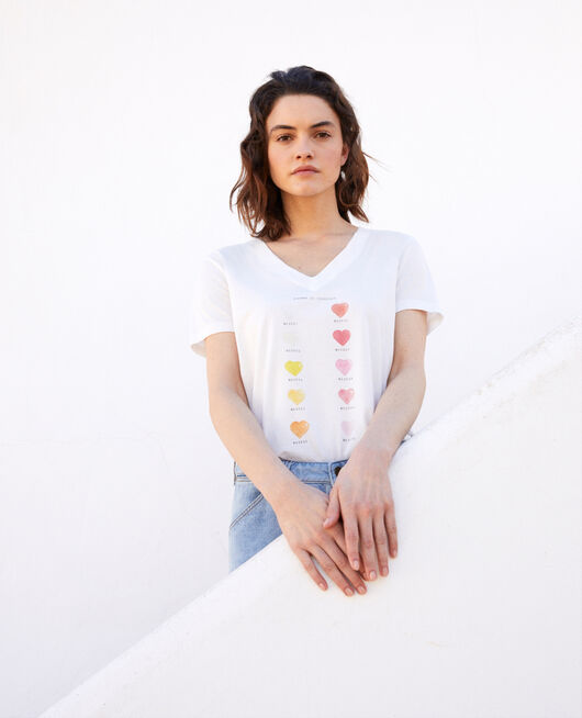 T-shirt gamme de couleur OFF WHITE