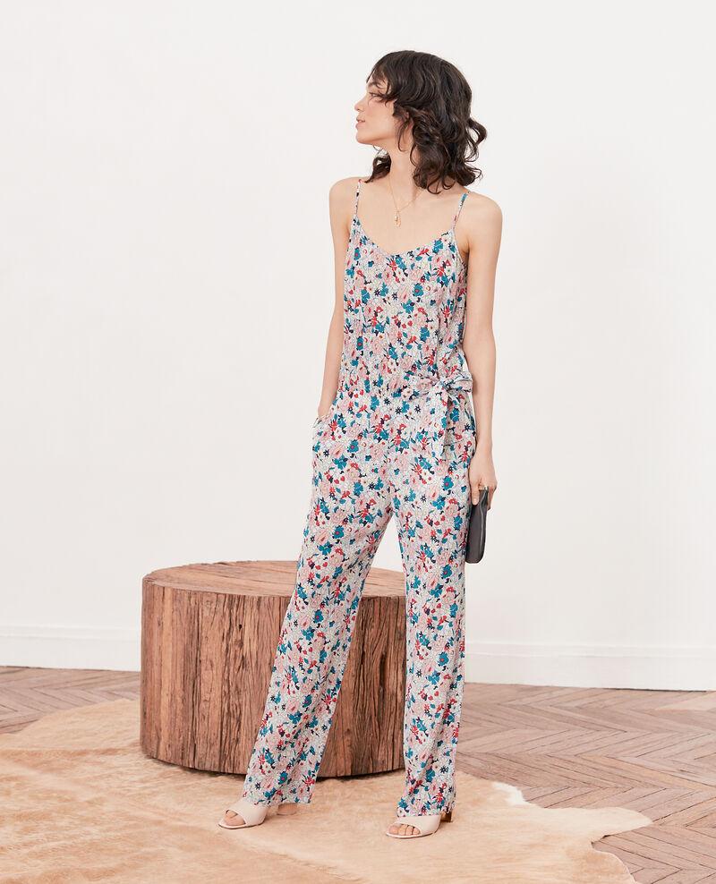 Combinaison en soie Summer bloom rosebud Frac