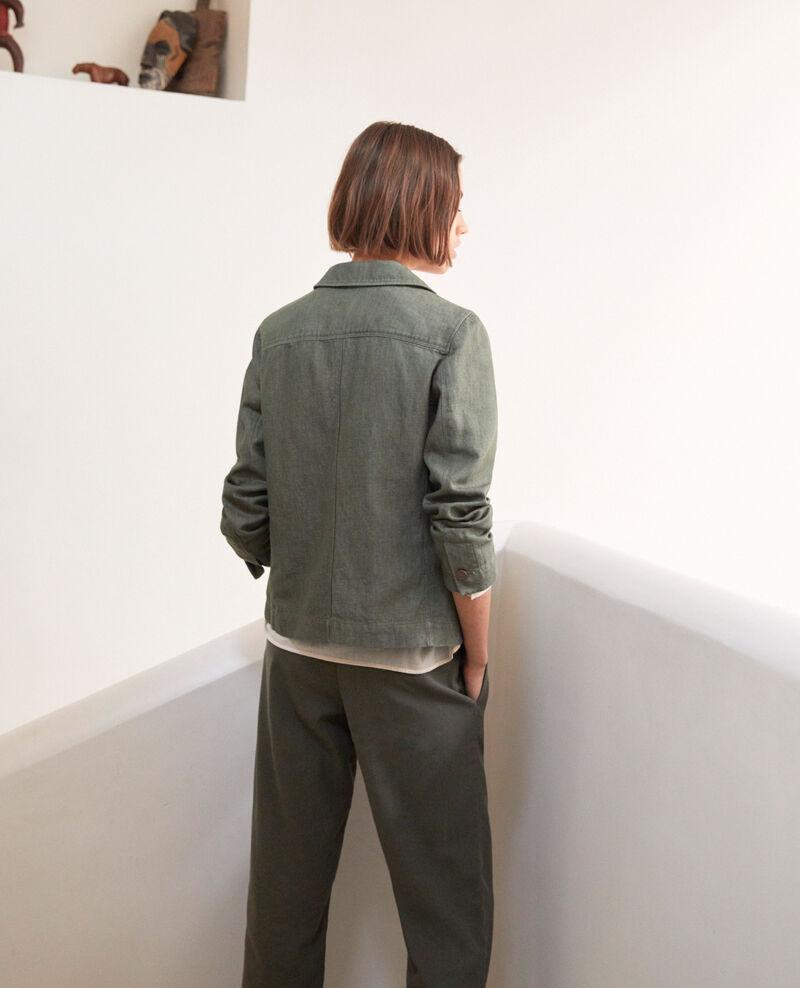 Veste de costume Cheng olive Irius