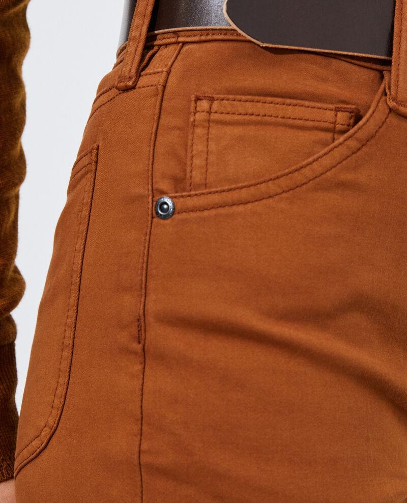 DANI - SKINNY - Jean taille haute 5 poches Monks robe Pozakiny