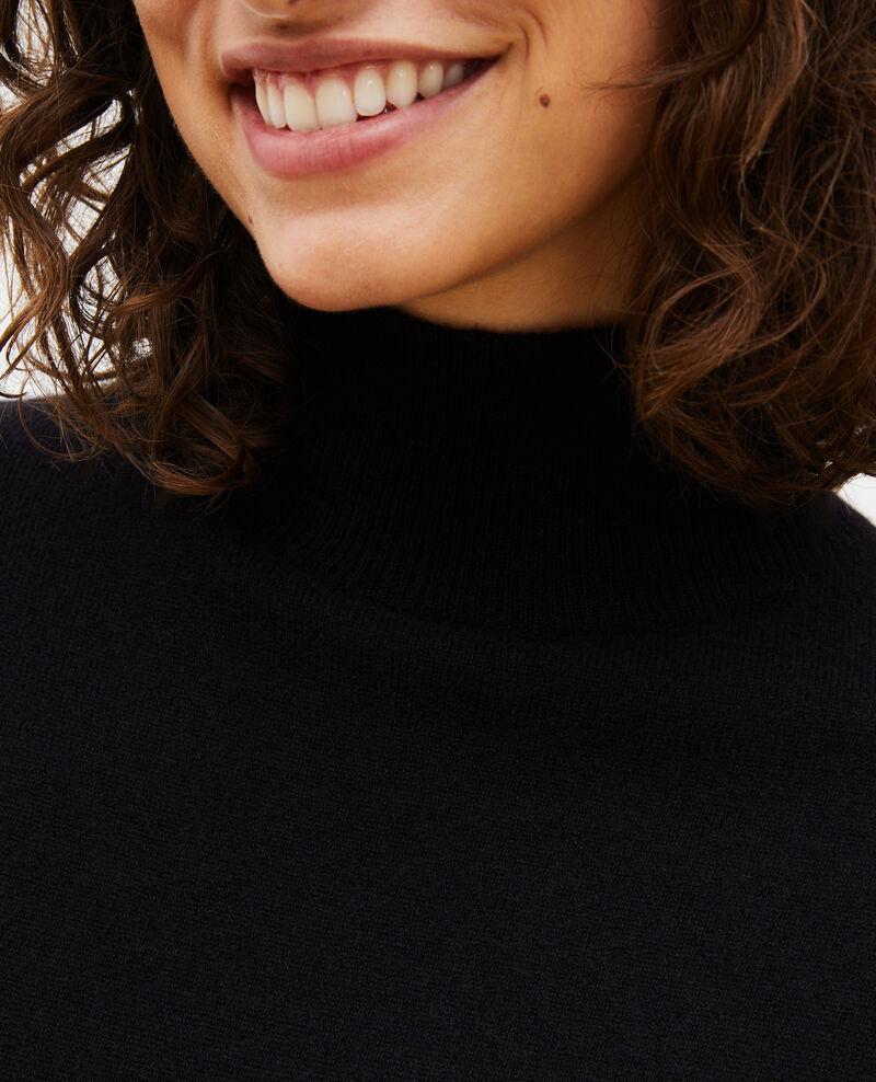 Robe pull en cachemire Black beauty Manin
