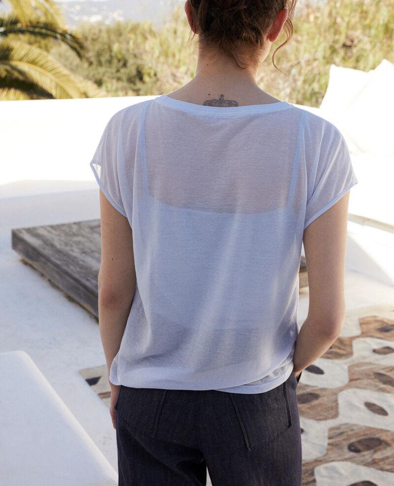 T-shirt intemporel Ribbon blue Idele