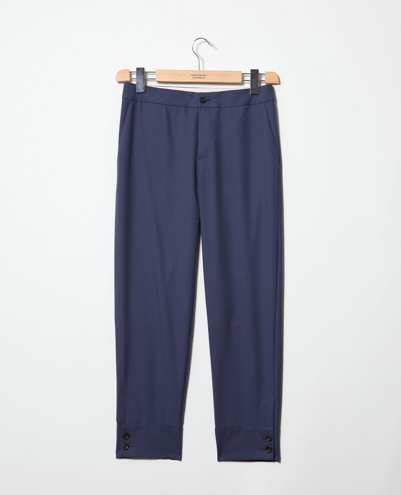 Pantalon coupe droite Ink navy Ivaline