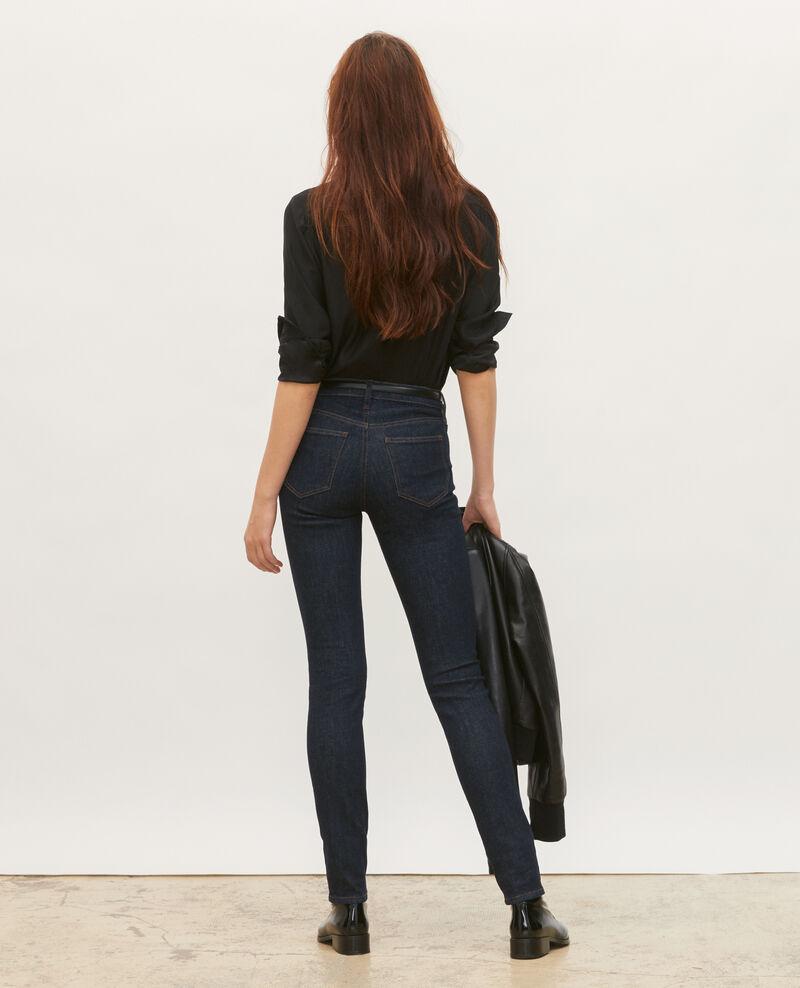 SLIM MID RISE - Jean 5 poches Denim rinse Mandra