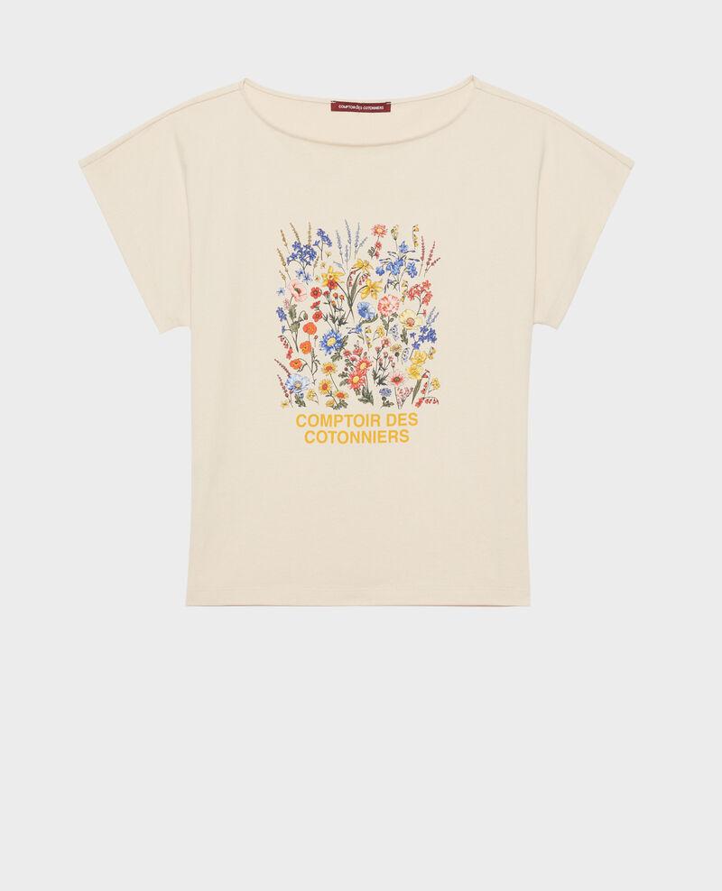 T-shirt en coton manches courtes Tapioca Marcelin