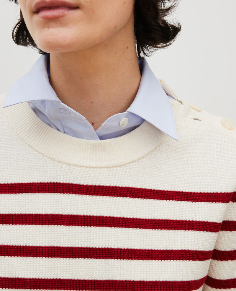 Pull marin en laine Str_jetstream_ry_red Liselle