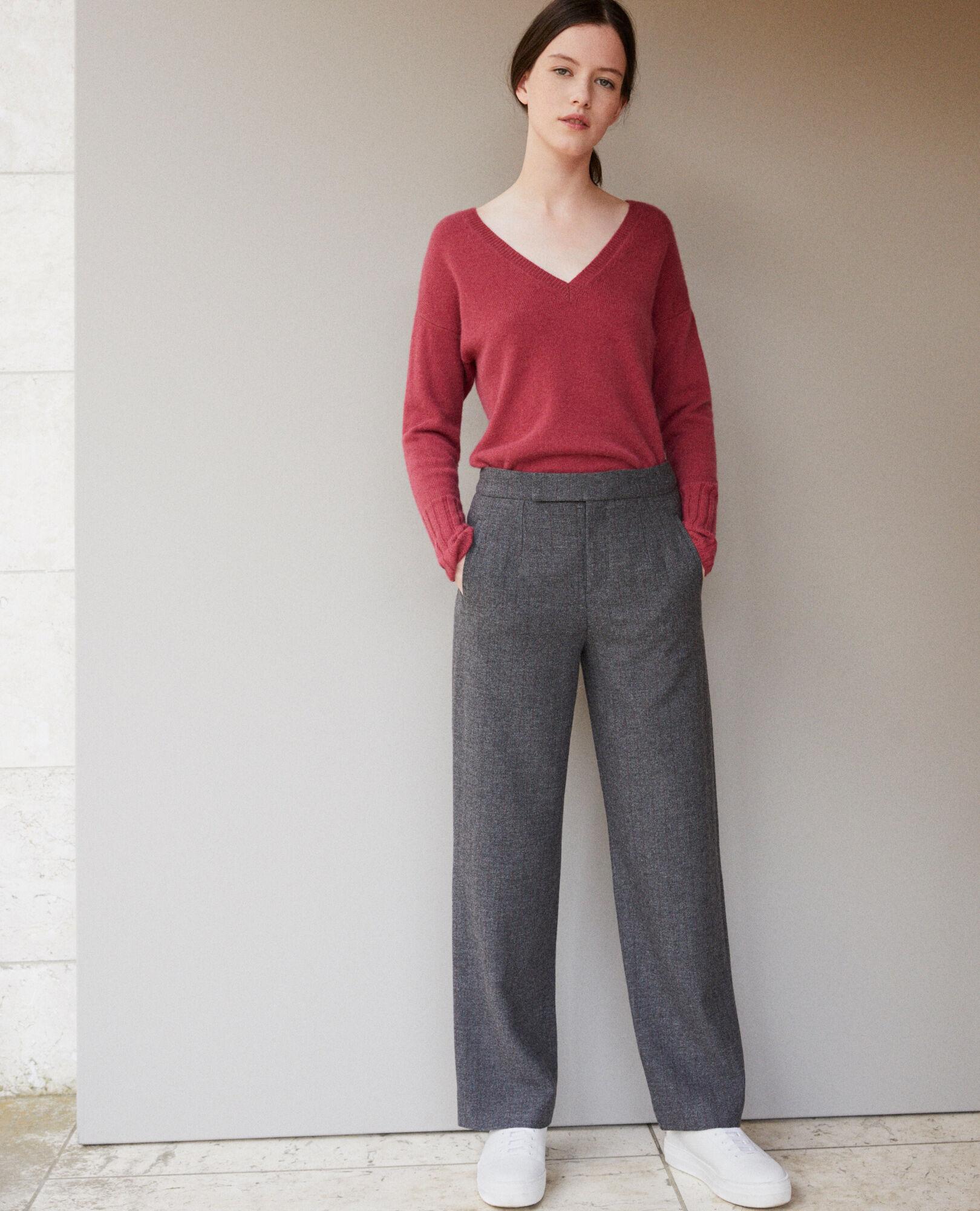 Gylopa Épais Grey Heather Femme Comptoir Dark Pantalon Couleur PY6APx