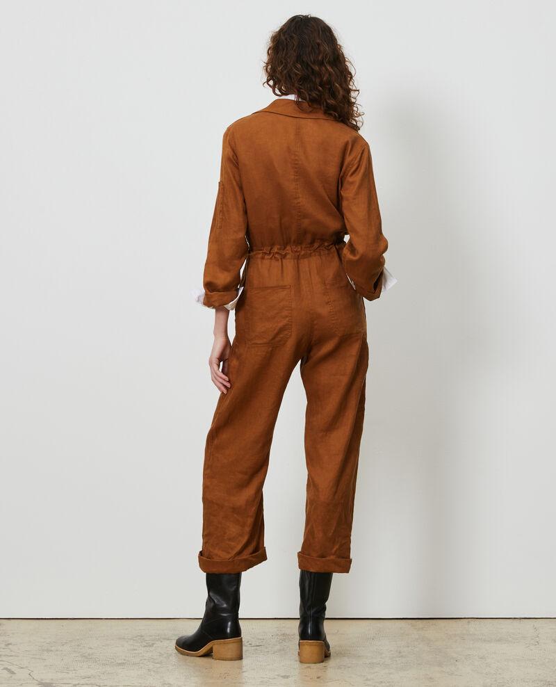 Combinaison longue en lin Monks robe Lachassain