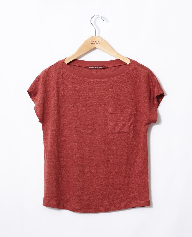T-shirt avec poche Cowhide Granolita