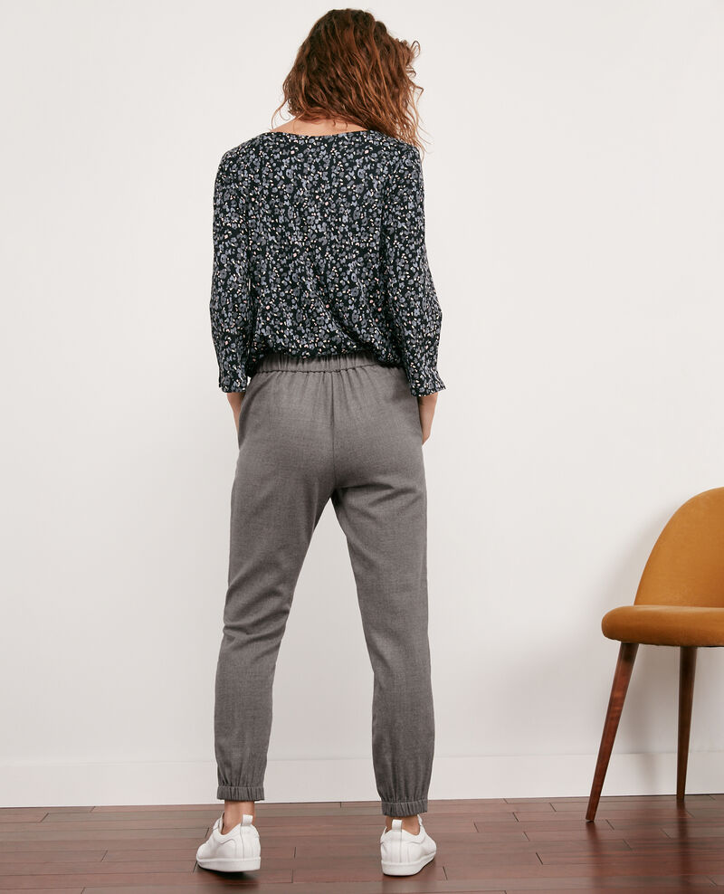 Pantalon en laine Light grey Dalray
