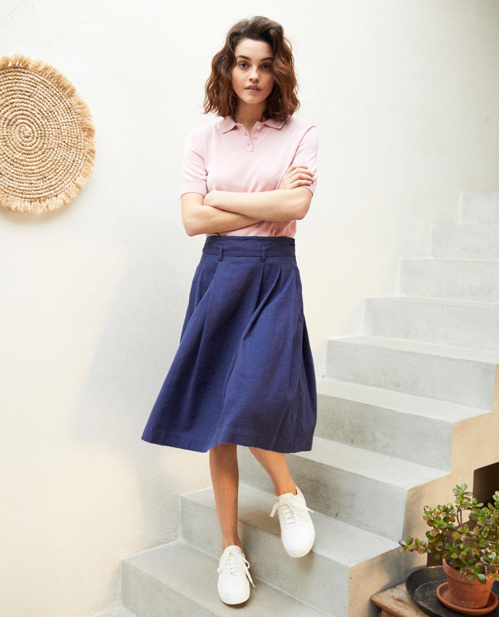 Jupe Des Lin Mode Femme Cotonniers Comptoir TKcl1JF