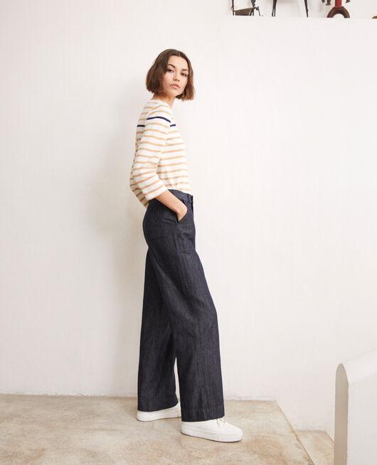 Pantalon avec du lin INDIGO