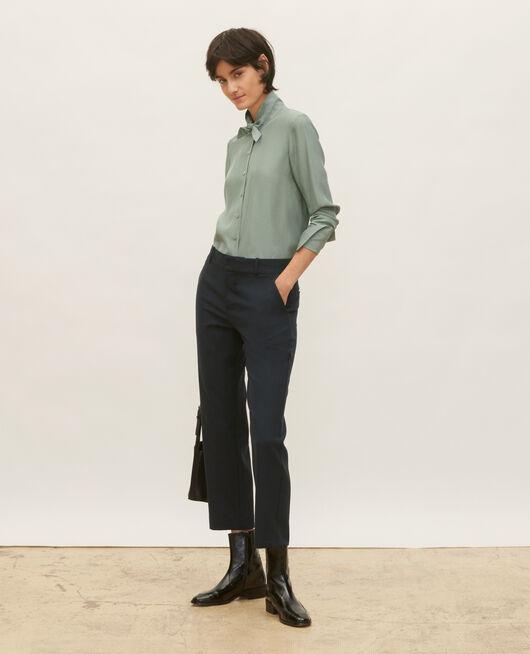 Pantalon masculin en laine sèche DARK NAVY