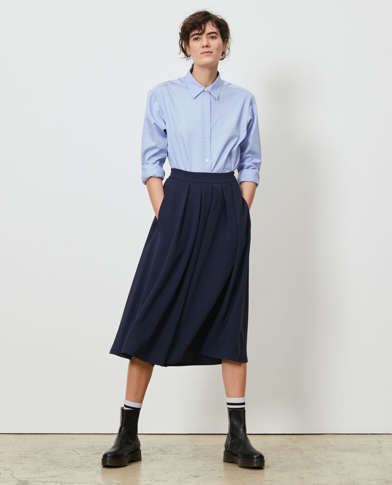 BABETH - Jupe-culotte fluide Night sky Narby