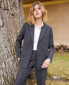 Veste tailoring avec de la laine Heather grey Jermain
