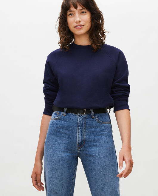 Sweatshirt en molleton MARITIME BLUE